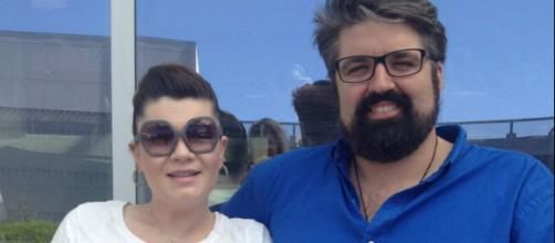 Amber Portwood is seen with boyfriend Andrew Glennon. [Photo via Twitter]