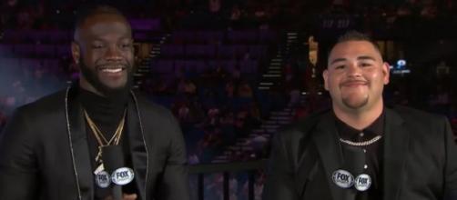 Andy Ruiz disponibile a combattere contro Deontay Wilder: 'Siamo della stessa squadra'