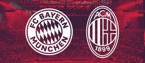 Bayern e Milan se enfrentam pela International Champions Cup (Reprodução Twitter/@ACMilan_Brasil