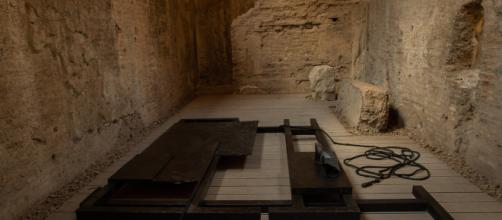 Dario D'Aronco Composizione con voce (Hirayama): una delle opere della mostra 'Kronos e Kairos'