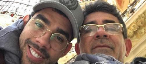 Pai de Gabriel Diniz faz homenagem ao filho. (Reprodução/Instagram/cizinato_diniz)