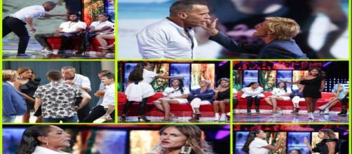 Telecinco censura una fuerte pelea de Carlos Lozano, Mónica Hoyos e Isabel Pantoja