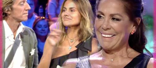 Tenso reencuentro entre Mónica Hoyos e Isabel Pantoja