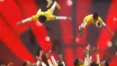 'America's Got Talent' Judge Cuts 2: Dwyane Wade goes gold for soaring dancers