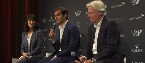 Borg e Federer verso la Laver Cup, Roger: 'Sarebbe stato bello affrontarlo a Wimbledon'