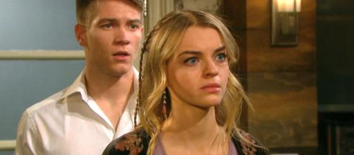 Days of Our Lives: Claire torments Haley's mind (Image source - DOOL Twitter verified account)