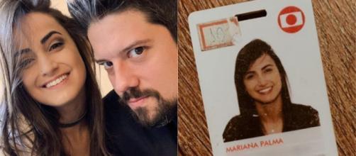 Os jornalistas Mari Palma e Phelipe Sian, não estão mais na Globo. (Reprodução/Instagram/@maripalma).