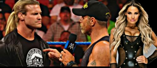 Shawn Michaels was a guest at Miz Tv in latest SmackDown Live, Trish Stratus returning soon. Image Courtesy: WWE/Youtube