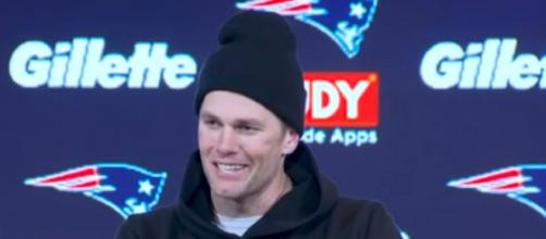 Brady is entering the final year of his two-year deal, $30 million deal (Image Credit: New England Patriots/YouTube)