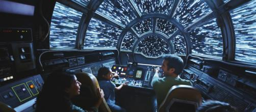 Disneyland's Smuggler's Run ride just had it's one-millionth pilot. [Image Credit] Disneyland Resort/YouTube