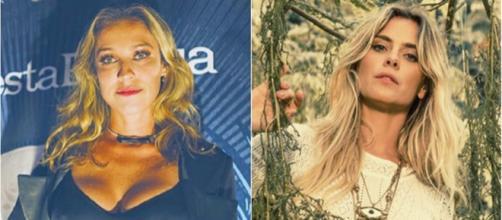 Luana Piovani e Carolina Dieckmann já tiveram desavenças pessoais. (Reprodução/Instagram/@luapio/@loracarola)