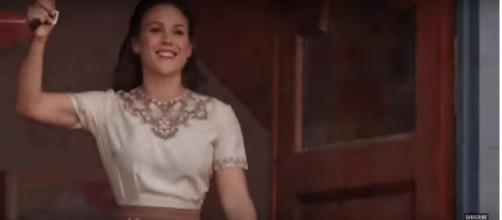 Erin Krakow and her 'When Calls the Heart' castmates have good reasons to think about love and family.[Image source: TVPromos-YouTube]