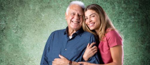 Exames médicos de Alberto e Paloma são trocados em 'Bom Sucesso'. (Reprodução/TV Globo)