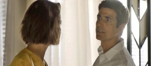 Régis expulsará Josiane de seu quarto na UTI. (Reprodução/ TV Globo)