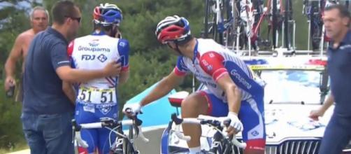 Thibaut Pinot costretto al ritiro al Tour de France