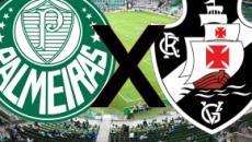 Palmeiras recebe Vasco para tentar acabar com jejum de vitórias