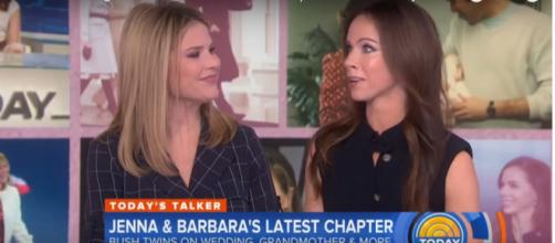 """Today's"" Jenna Bush Hager had plans for her sister Barbara and Prince Harry. [Image source: TODAY-YouTube]"