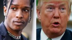 ASAP Rocky, duro botta e risposta di Trump con il governo svedese: 'Liberatelo'