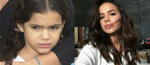 Elas cresceram e ficaram diferentes (Reprodução/TV Globo/Instagram/@brunamarquezine)