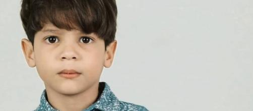 O ator mirim volta a atuar nas telinhas, desta vez, na Rede Globo. (Reprodução/Instagram)