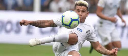 Soteldo fez a jogada do segundo gol. (Ivan Storti/Santos FC)