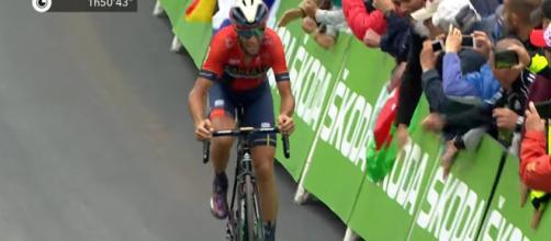 Tour de France, Vincenzo Nibali ha scritto il suo nome sulla salita di Val Thorens vincendo l'ultima tappa di montagna.