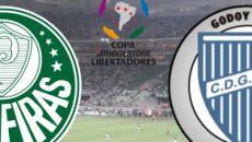 Palmeiras x Godoy Cruz: transmissão ao vivo no Fox Sports, nesta terça (30), às 21h30