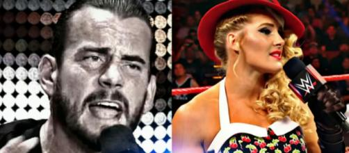 CM Punk return update, Lacey Evans threatens WWE Legend. Image Courtesy: WWE/Youtube