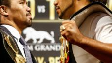 Manny Pacquiao unfazed at possibly facing 160-pound Keith Thurman on fight night