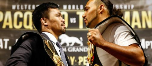 For Keith Thurman, Manny Pacquiao fight serves as the Floyd ... image credit: - FightHub/Youtube