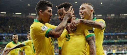 Gabriel Jesus-Firmino gol, l'Argentina sbatte sui pali: Brasile in finale di Copa America