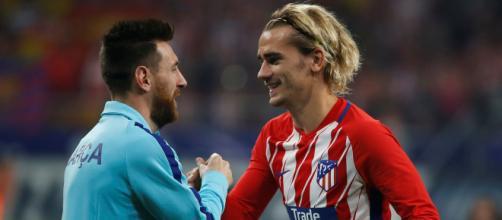 Griezmann sera peut-être le nouveau partenaire de Leo Messi