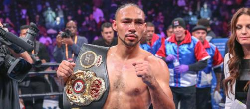 Keith Thurman thinks his overall boxing skills is better than Manny Pacquiao [Image credit: PBC/YouTube]