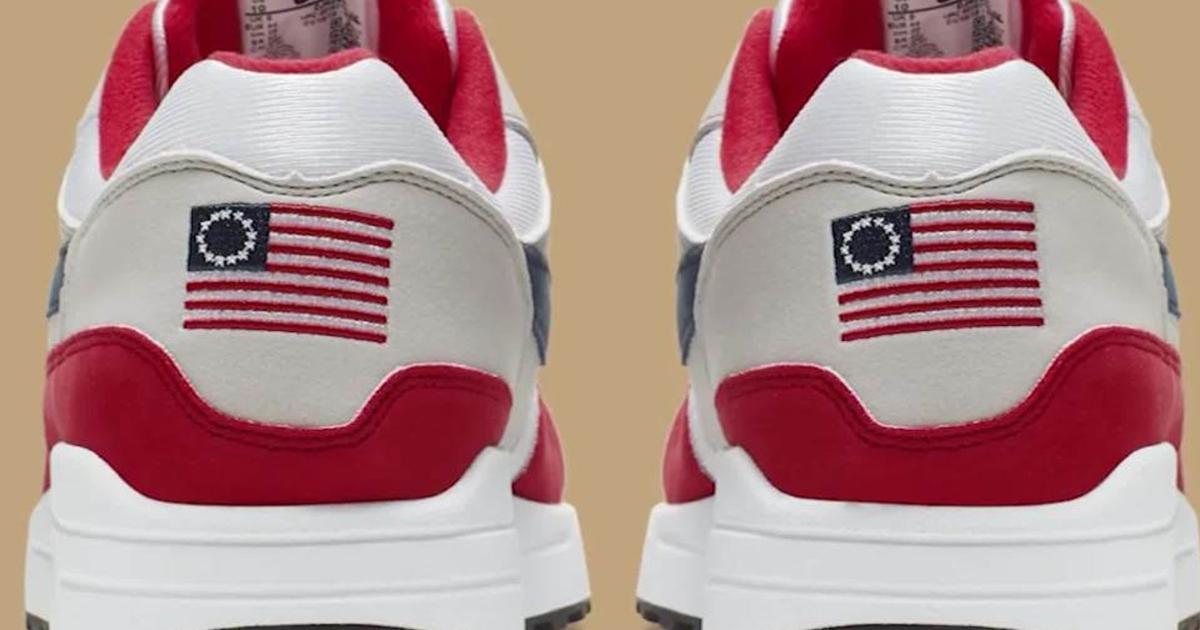 Nike, ritirate le Air Max Indipendence Day: 'Simbolo razzista'  CRxwJw