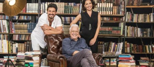 Bom Sucesso estreia falando sobre literatura (Victor Pollak/Globo)