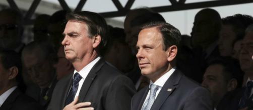Doria criticou fala de Bolsonaro sobre o pai do presidente da OAB. (Marcos Corrêa/Presidência da República)