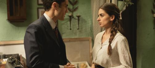 Il Segreto, anticipazioni: Elsa consegna ad Alvaro tutto il suo patrimonio