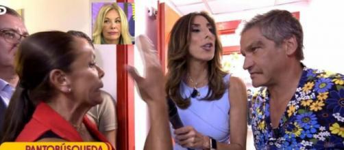 Isabel Pantoja entra en 'Sálvame' y después discute con Gustavo González