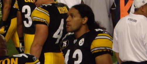 Troy Polamalu was the 2010 Defensive Player of the Year. [Image Source: Flickr | wstera2]