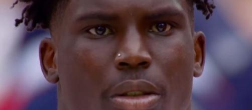Tyreek Hill suffered an injury in Tuesday's camp [Image via 99 Problems/YouTube]