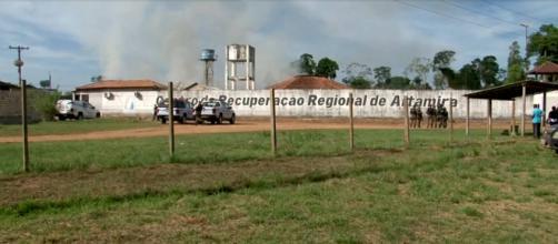 Os presos estavam sendo transferidos para Belém. (Reprodução/TV Globo)