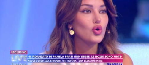 Rosa Perrotta presenta il figlio Domenico
