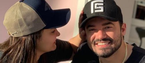 Socoraba, parceiro de Fernando, lamentou o término entre o casal. (Reprodução/Instagram/@fernando)