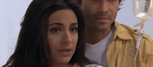 Ana Paula descobre que está grávida. (Reprodução/ SBT)
