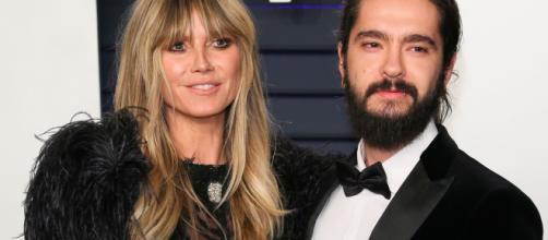 Heidi Klum y Tom Kaulitz en una imagen de archivo.