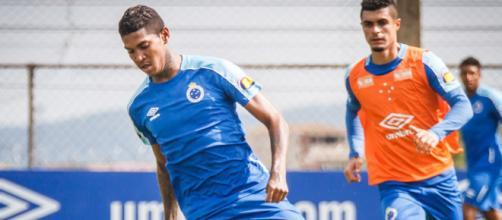 Jogador vinha sendo pouco aproveitado no Cruzeiro. (Divulgação/Vinnicius Silva/Cruzeiro)