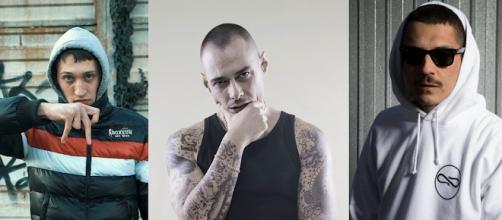 Massimo Pericolo, Fabri Fibra e Noyz Narcos.