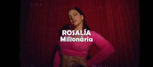Milionària la primera canción en catalán de Rosalía