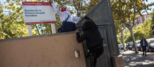 Cuatro personas heridas en un enfrentamiento en un centro de menores