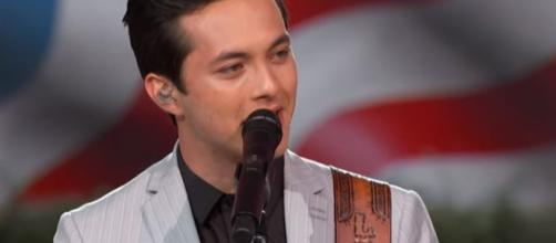 Laine Hardy, American Idol winner plays at the A Capitol Fourth 2019 concert - Image credit - PBS / YouTube